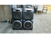 Sony loud speakers
