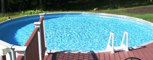 Changement de toile piscine hors-terre *SERVICE RAPIDO PRESTO*