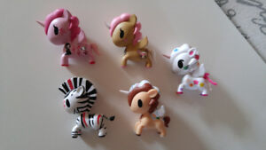 Lot de figurines Tokidoki Unicorno séries 1 à 3