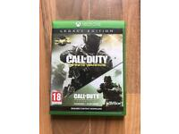 call of duty infinite warfare / mw2 legacy edition , as new , xbox one ! price stands , no offers !