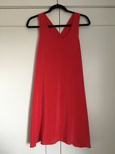 **Price Reduced** Never worn - Coral Cynthia Rowley Silk Dress