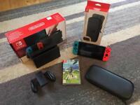 Nintendo Switch, Zelda & Carry Case