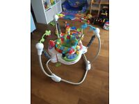 Baby Fisher Price Jumperoo Discover & Grow Hardly Used Portslade Brighton £40