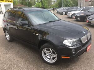 2007 BMW X3 AWD/LEATHER/ROOF/LOADED/ALLOYS