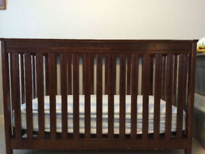 AP Industries 3 in 1 Crib in Expresso