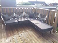 Outdoor corner sofa