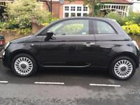 FIAT 500 Black Manual low mileage one owner