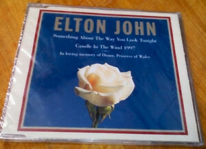 ****Elton John's Candle In The Wind for Princess Diana –NEW ****