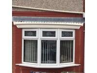 Upvc bay window bow window
