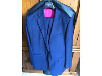 Men's suit, blue. Charles Tyrwhitt £75