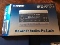 BOSS digital recorder micro br brand new