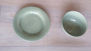 **BOWL AND PLATE**new
