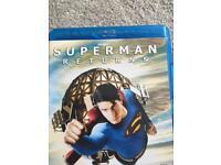 Superman blu ray disc