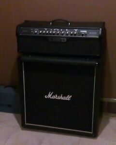 Marshall 4x12 lead cabinet / 150w line6 spider IV