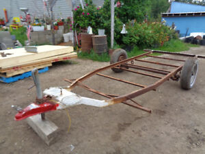 """Utility trailer project  with new AB vin number 12x 60""""  to mak"""