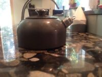 AGA kettle with whistle