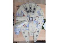 Starwars 2008 huge electronic millennium falcon