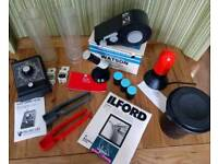 Darkroom equipment various