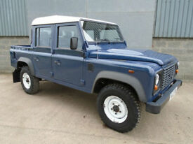 Land Rover Defender 110 double cab TDCi pick up 2012 12 reg