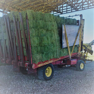 Premium, Early July cu,t square baled hay