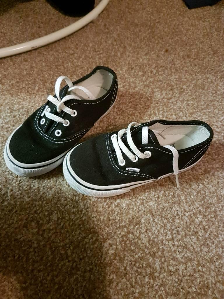 Size 8 kids vansin Gosport, HampshireGumtree - Brilliant condition, size 8 kids vans