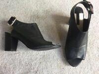 Dorothy Perkins Black Heels Size 7