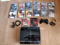 PS3 (SPECIAL EDITION - BACKWARDS COMPATIBLE) + 14 games
