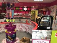 Shop To Let - Ice Cream Shop/ Other Uses to Rent Fully Furnished Very Busy Road WEST LOTHIAN