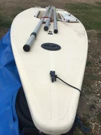 Laser 1 dinghy. East Sussex. Ready to sail