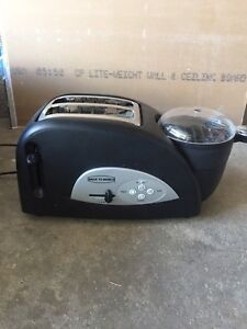 Toaster and egg mcmuffin maker