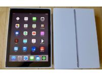 "Apple iPad Pro 9.7"" 128GB Space Grey WiFi."