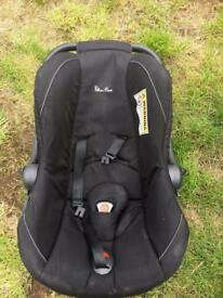 Silver cross. Baby car seat