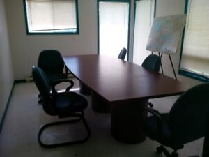 4 ft x 10 ft Board Room Table