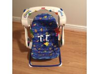 Baby Aquarium Swing. In immaculate condition includes music and coloured lights.