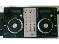 DJ set up - Numark CDJ Mixdeck Express