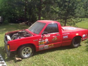1988 GMC/Chevy S-10 Race Drag Truck