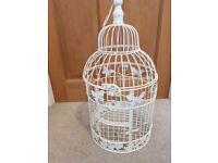 Decorative vintage birdcage