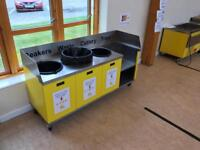 Catering Schools clearing station
