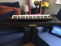 Yamaha DSR 2000 61-Keys MIDI Digital FM + PCM Drums Keyboard Synthesizer - 1987