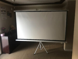 """Projector Screen with Tripod 100"""""""