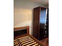 New! Stunning walnut 3 door wardrobes