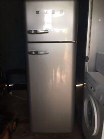 SMEG Fab 30 Fridge Freezer (Silver) - Exeter, Devon