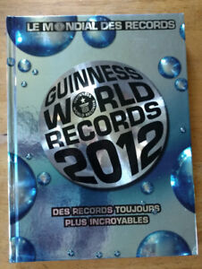 RECORDS GUINNESS 2012 Livre de collection