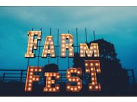 FARMFEST TICKET FOR SALE -- BELOW FACE VALUE