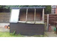 garden potting shed FREE