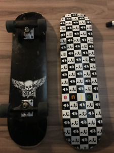 TWO DECKS AND BOARD ACCESSORIES!!!