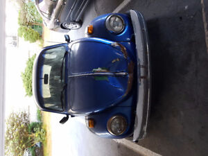 Classic 1974 VW Beetle as is
