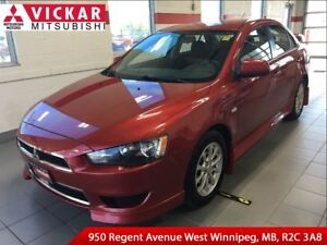 2013 Mitsubishi Lancer SE-AWC/ Remote Start/ Local Trade