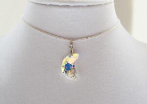 Swarovski Crescent Moon Jewellery Set (Hand Made)
