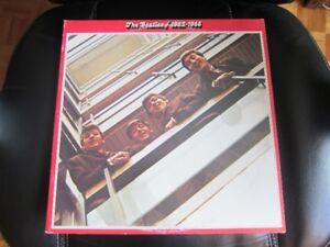 THE BEATLES / 1962 - 1966 VINYL 33 TOURS / DOUBLE